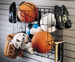 Sports Rack and Basket